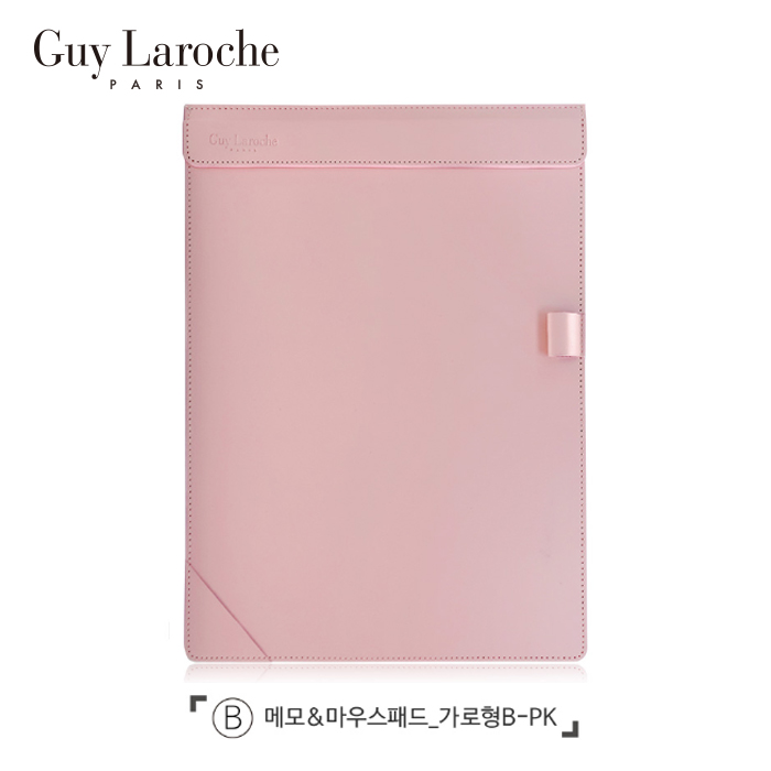 [Guy Laroche] 기라로쉬 메모&마우스패드_가로형(베이비핑크)